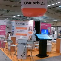 Conception stand, 42m², salon professionnel Montpellier