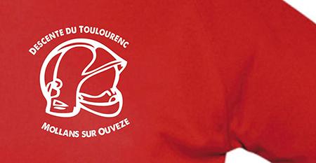 Logo-Flocage T-Shirt-Pompiers-Conseil Mkg