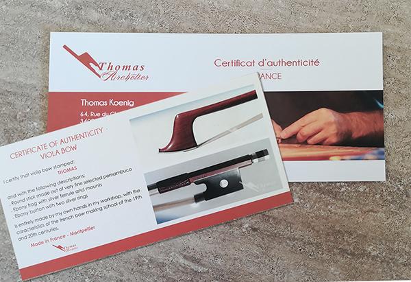 Certificat authenticité-Thomas-Archetier-Conseil Mkg