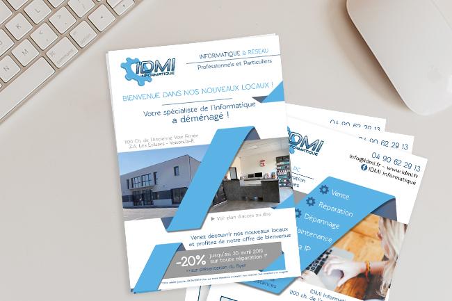 Flyer A5-Déménagement-IDMI-Informatique-Conseil Mkg