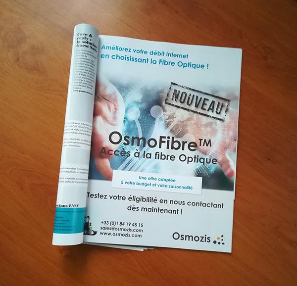 Encart Presse-Promotion produit-L'OfficieldesTerrains-Cosneil Mkg