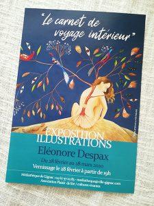 AfficheA4_A3-Exposition peintures-Illustrations-Conseil Mkg