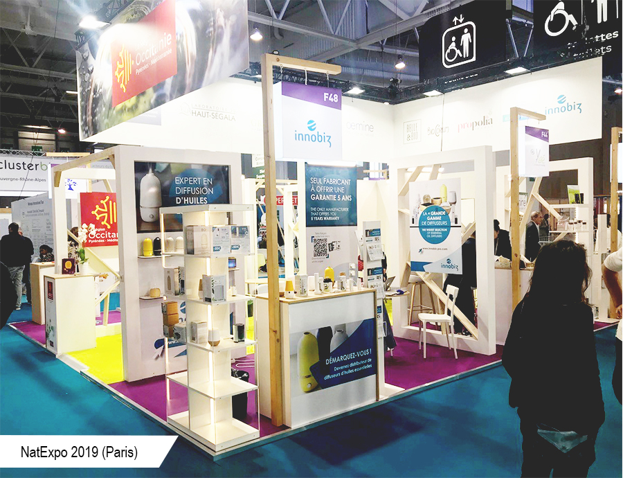 Stand Innobiz_NatExpo Paris 2019-Conseil Mkg